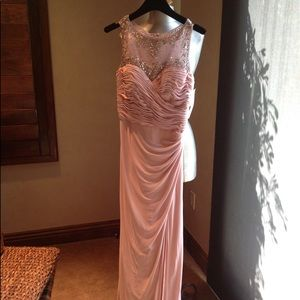 NWT jeweled gown